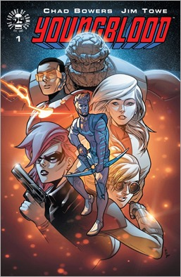 Youngblood #1 Cover