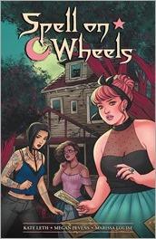 Spell On Wheels TPB Cover - Bartel