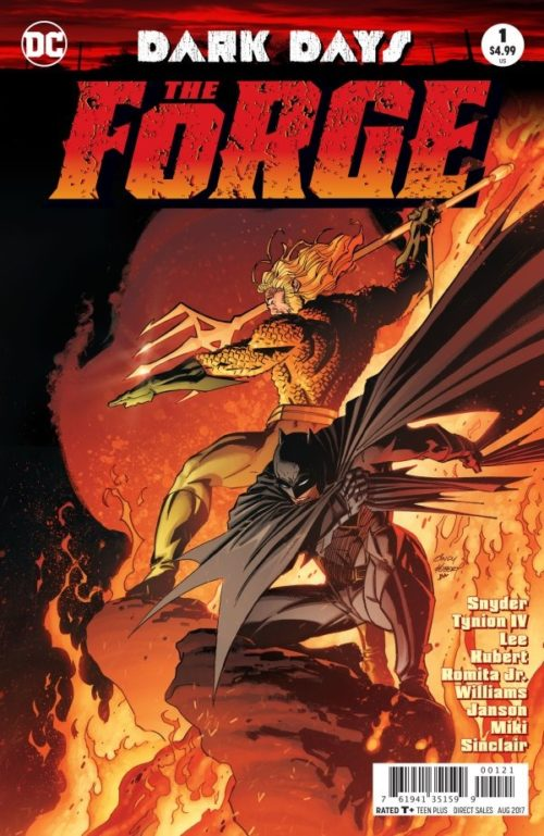 The Forge #1NMDC Comics 2017 Night Metal Snyder Dark Days