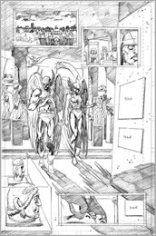 Dark Days: The Casting #1 First Look Preview Pencils 1