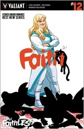 Faith #12 Cover A - Kano