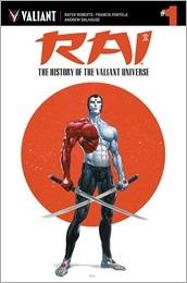 Rai: The History of the Valiant Universe #1 Cover A - Crain