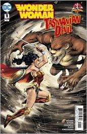 Wonder Woman/Tasmanian Devil Special #1 Cover