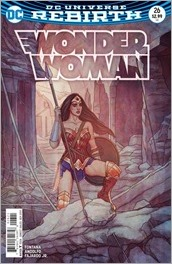 Wonder Woman #26 Cover - Frison