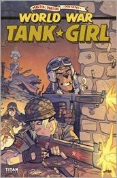 Tank Girl: World War Tank Girl #3 Cover - Parson