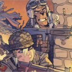 Preview of Tank Girl: World War Tank Girl #3 by Martin & Parson (Titan)