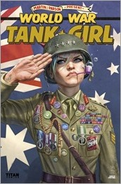 Tank Girl: World War Tank Girl #3 Cover - Wahl