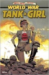 Tank Girl: World War Tank Girl #3 Cover - Robinson