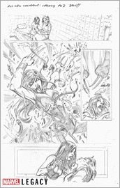 All New Wolverine Marvel Primer Pages