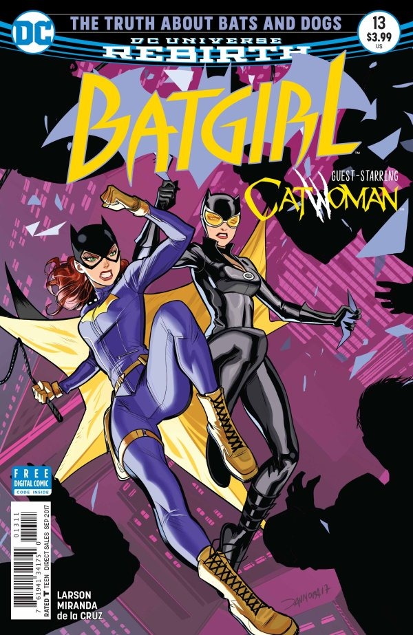 preview  batgirl  13 by larson  u0026 miranda