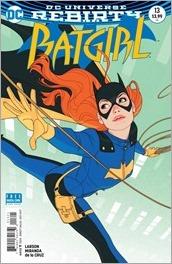 Batgirl #13 Cover - Middleton
