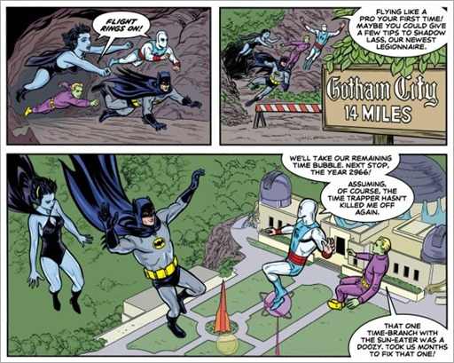 Batman '66 Meets Legion of Super-Heroes #1