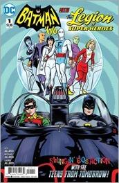 Batman '66 Meets Legion of Super-Heroes #1 Cover