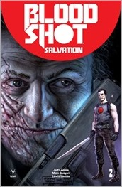 Bloodshot Salvation #2 Cover - Fabry Icon Variant