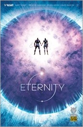 Eternity #1 Cover - Hairsine Pre-Order Variant