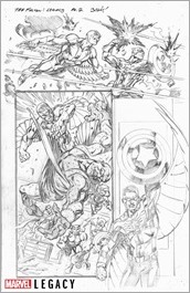 Falcon Marvel Primer Pages