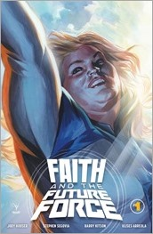 Faith and The Future Force #1 Cover - Massafera Variant