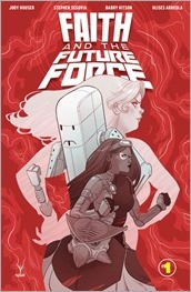 Faith and The Future Force #1 Cover - Sauvage Variant