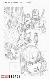 Jean Grey Marvel Primer Pages