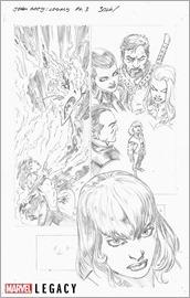 Jean Grey Marvel Primer Pages