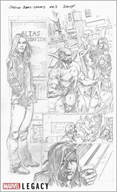 Jessica Jones Marvel Primer Pages