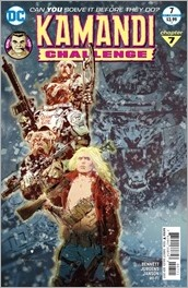 The Kamandi Challenge #7 Cover - Sienkiewicz