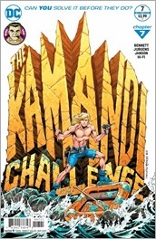 The Kamandi Challenge #7 Cover - Jurgens Variant