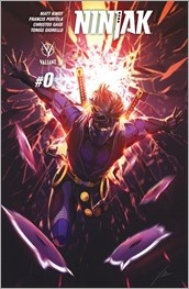Ninjak #0 Cover C - Orce