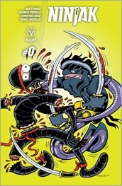 Ninjak #0 Cover - Bagge Variant