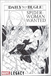 Spider-Gwen Marvel Primer Pages