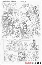 X-Men Blue Marvel Primer Pages