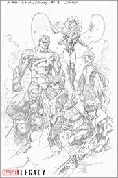 X-Men Gold Marvel Primer Pages