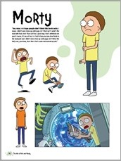 The Art of Rick and Morty HC Preview 3