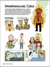 The Art of Rick and Morty HC Preview 7