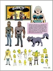 The Art of Rick and Morty HC Preview 8