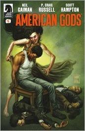 American Gods: Shadows #6 Cover - Fabry