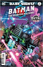 Batman: The Murder Machine #1 Cover