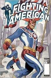 Fighting American #1 Cover A - Dodson