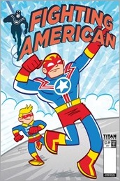 Fighting American #1 Cover B - Baltazar
