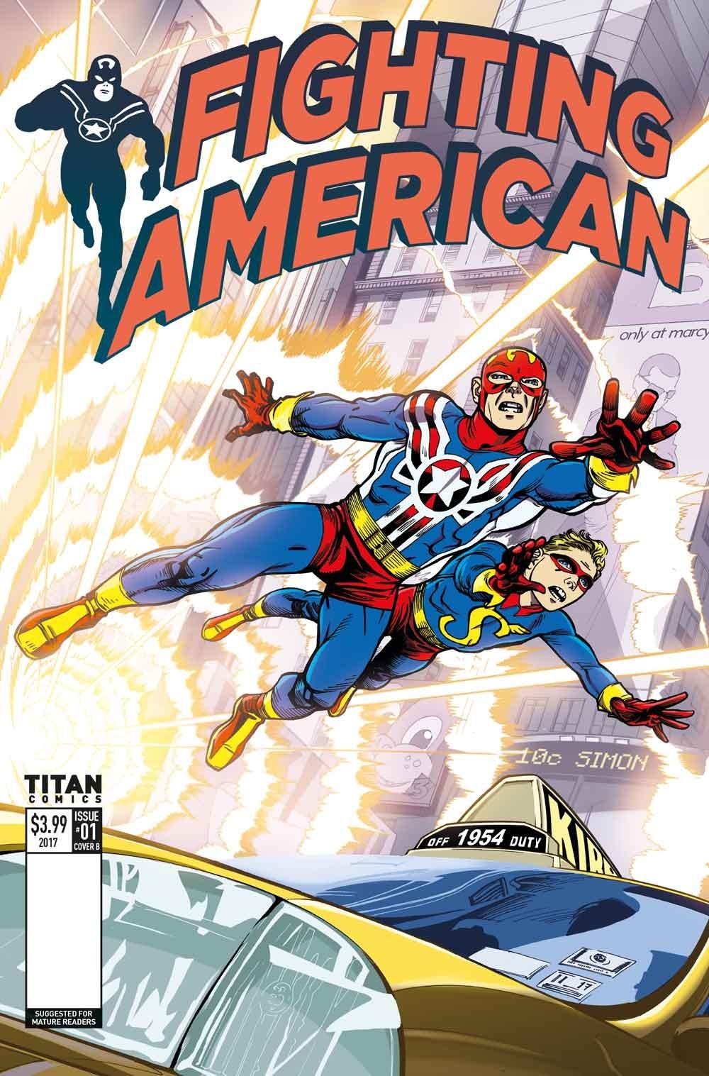 First Look: Fighting American #1 by Rennie & Mighten (Titan)