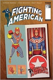 Fighting American #1 Cover E - Shedd