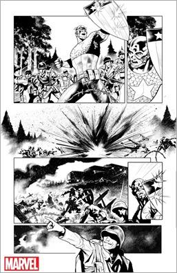 Generations: Sam Wilson Captain America & Steve Rogers Captain America #1 Preview 1