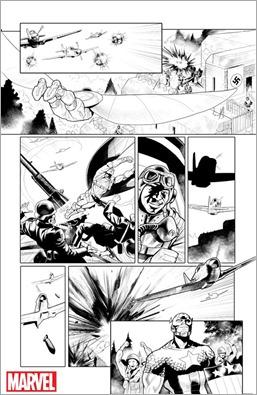 Generations: Sam Wilson Captain America & Steve Rogers Captain America #1 Preview 2
