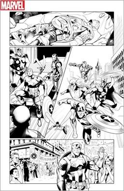 Generations: Sam Wilson Captain America & Steve Rogers Captain America #1 Preview 3