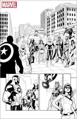 Generations: Sam Wilson Captain America & Steve Rogers Captain America #1 Preview 4