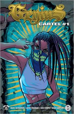Genius: Cartel #1 Cover