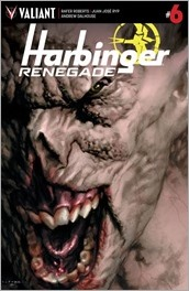 Harbinger Renegade #6 Cover A - LaRosa