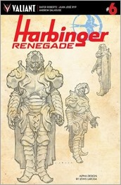 Harbinger Renegade #6 Cover - LaRosa Design Variant