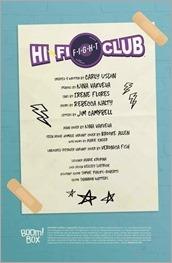 Hi-Fi Fight Club #1 Preview 1