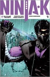 Ninja-K #1 Cover A - Hairsine